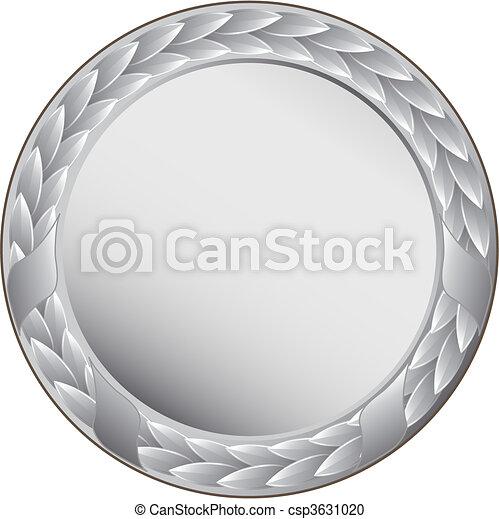silver medal  - csp3631020