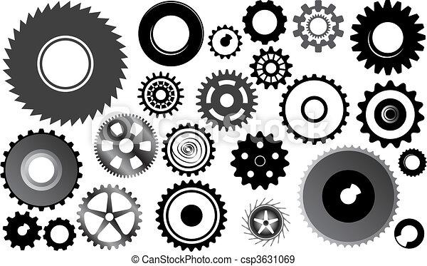 set of gear wheels - csp3631069