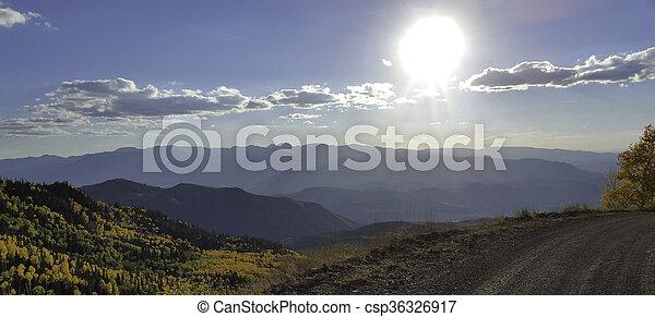 Mountain Road - csp36326917