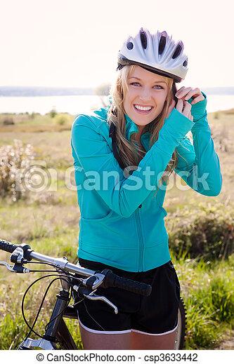 Sport woman - csp3633442