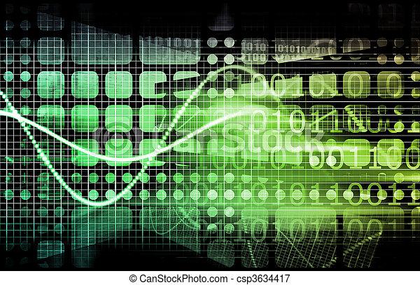 informazioni, tecnologia - csp3634417
