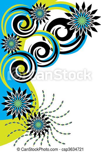 In the Turquoise Garden - csp3634721