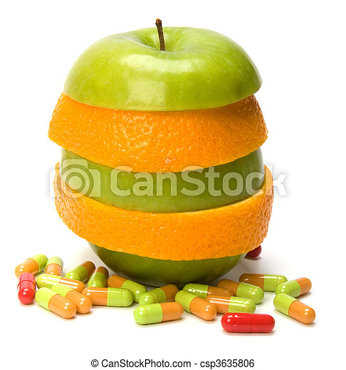 vitamins source - csp3635806