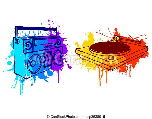 Music equipment. - csp3638016