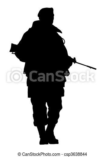 soldier - csp3638844