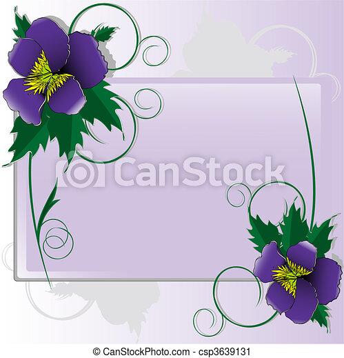 Violets - csp3639131