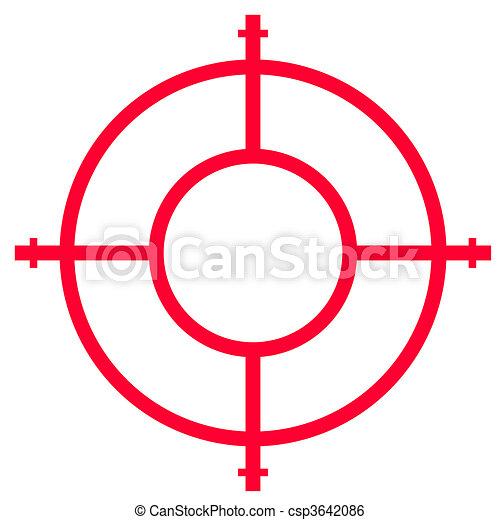 Gun sight - csp3642086