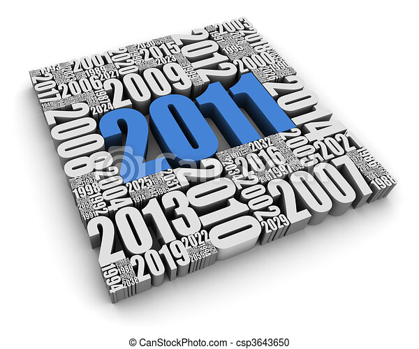 2011 AD - csp3643650