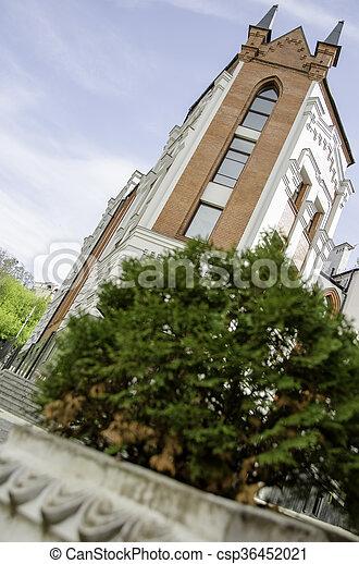 美しい, 建物, 歴史的, center. - csp36452021