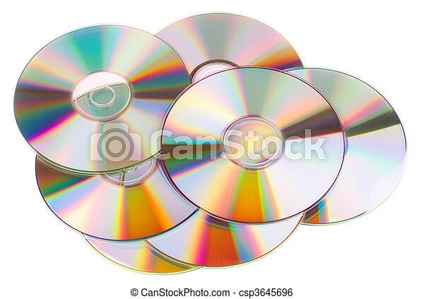DVD disks - csp3645696