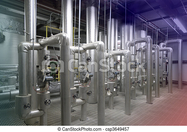 Water treatment plant - csp3649457