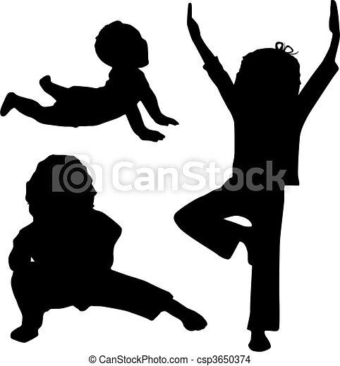 Child\'s yoga - csp3650374