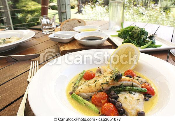 Gourmet Food - csp3651877