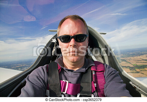 In the cockpit - csp3652379