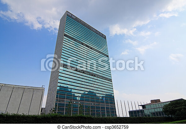 United Nations Headquarter - csp3652759