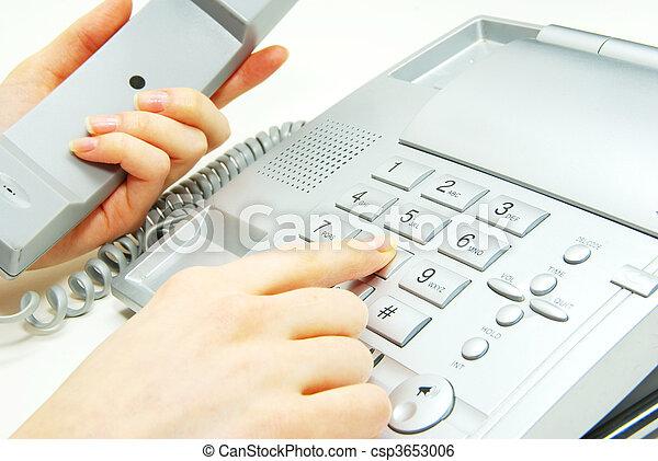 telephone - csp3653006
