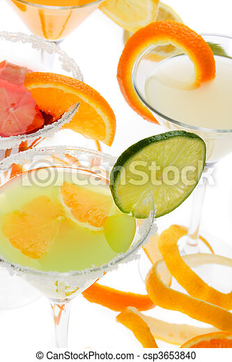 Fruit cocktail - csp3653840