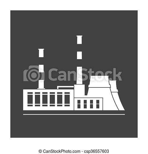 Power station - csp36557603