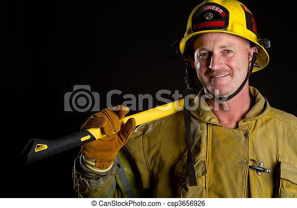 Fireman - csp3656926
