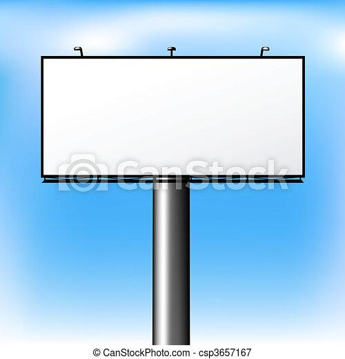 Advertising Outdoor - csp3657167
