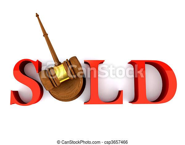 Sold - csp3657466
