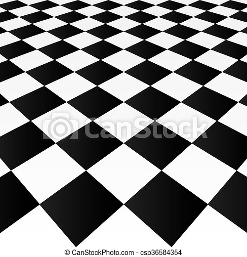 Checkered background - csp36584354
