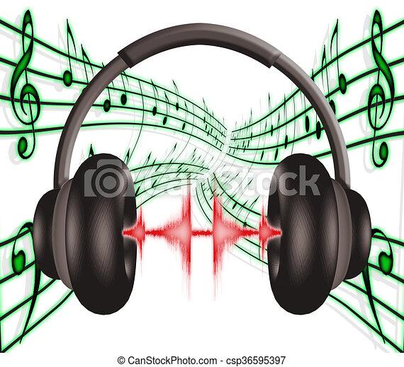 Headphones 2 - csp36595397