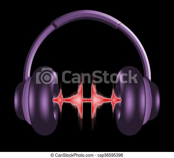 Headphones 1 - csp36595398