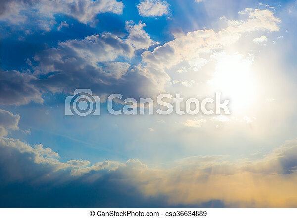 bello, cielo blu - csp36634889