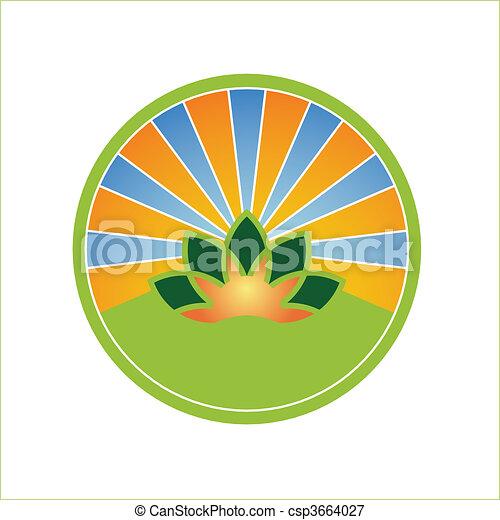agriculture symbol - csp3664027