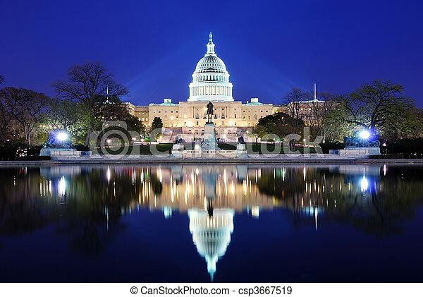 華盛頓,  DC - csp3667519