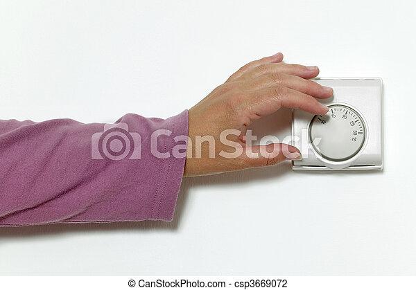 Turning down the heat - csp3669072