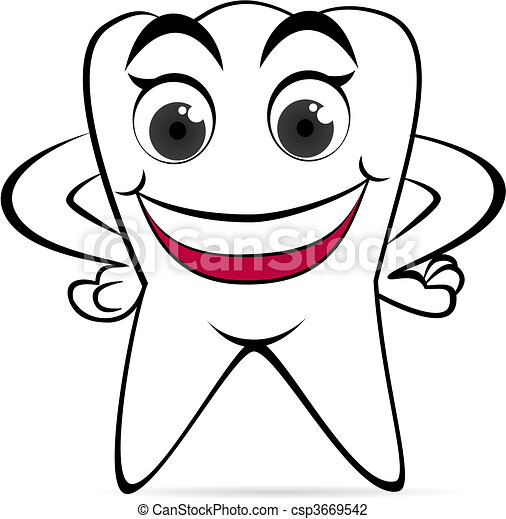 Tooth - csp3669542