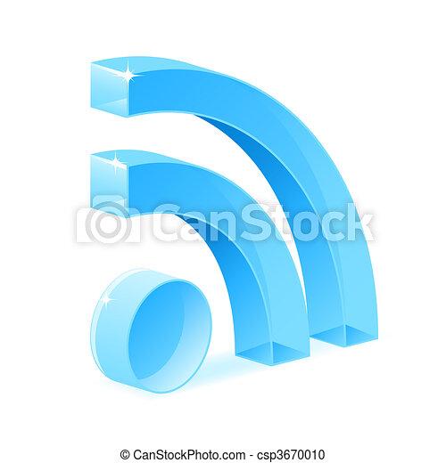 RSS symbol - csp3670010