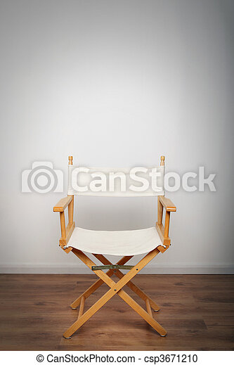 Chair in the spotlight - csp3671210