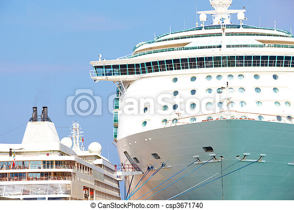 Holiday cruise liner - csp3671740