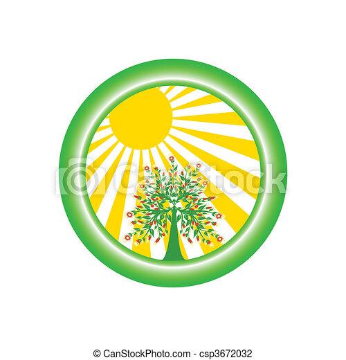 environmental logo - csp3672032