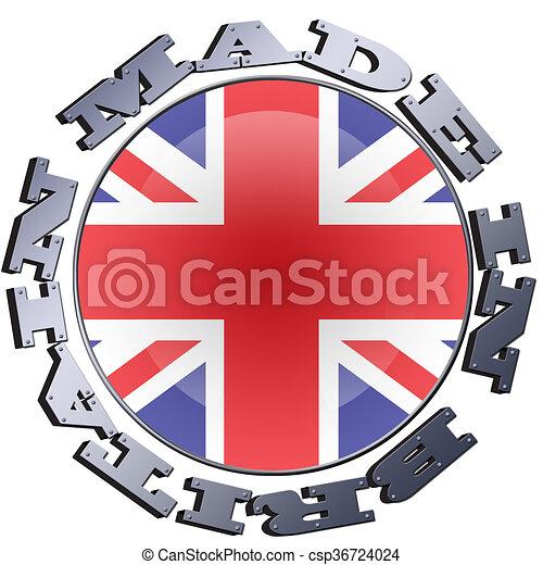 Made In Britain - csp36724024