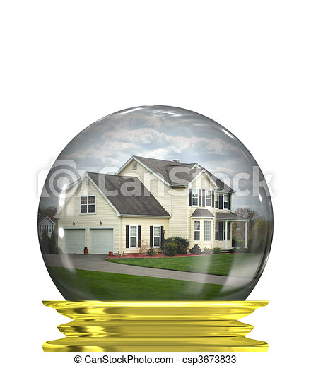 Real Estate Market Predictions - csp3673833