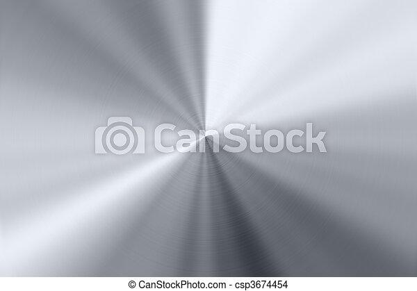 Shiny metal background - csp3674454