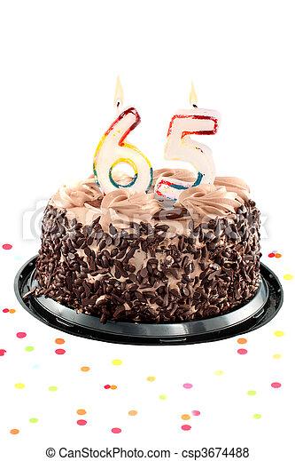 sessanta, compleanno, o, quinto, anniversario - csp3674488