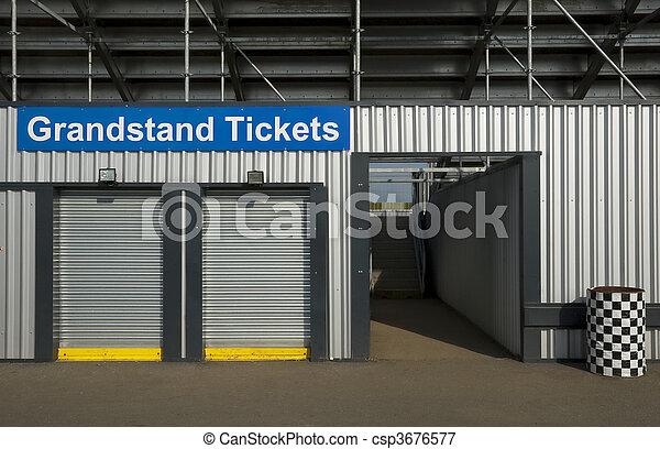 grandstand tickets - csp3676577