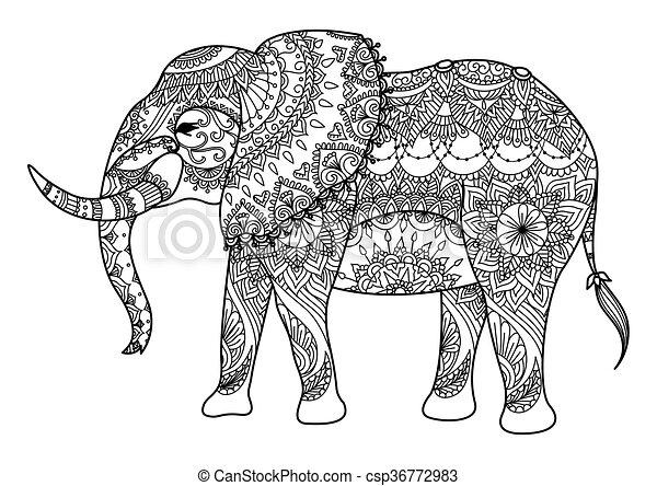 Elephan - csp36772983