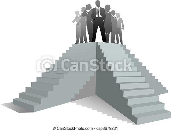 Leader Business Business Team Leader People
