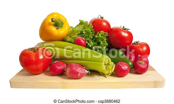 Ripe vegetables - csp3680462