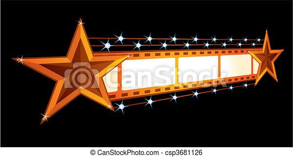 Cinema announcement - csp3681126