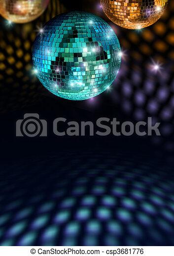 Colorful disco feeling - csp3681776
