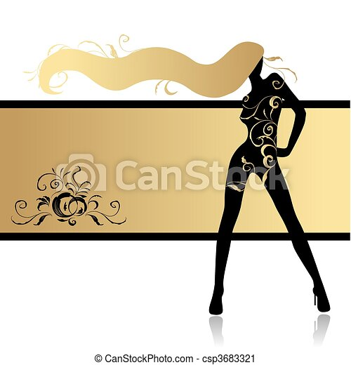Fashion Girl Clipart Fashion Girl in Dance