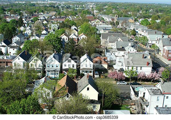 banque de photographies de voisinage au dessus a voisinage au dessus csp3685339. Black Bedroom Furniture Sets. Home Design Ideas