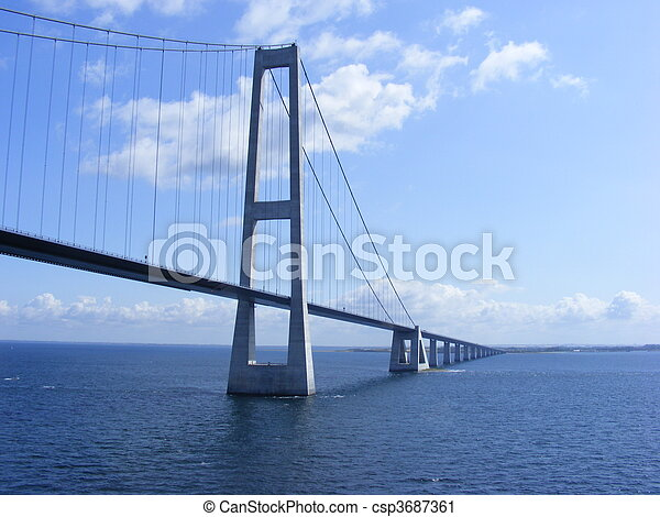 Great Belt Fixed Link - csp3687361